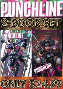 Punchline Special #1 Two Book Team Variant Set