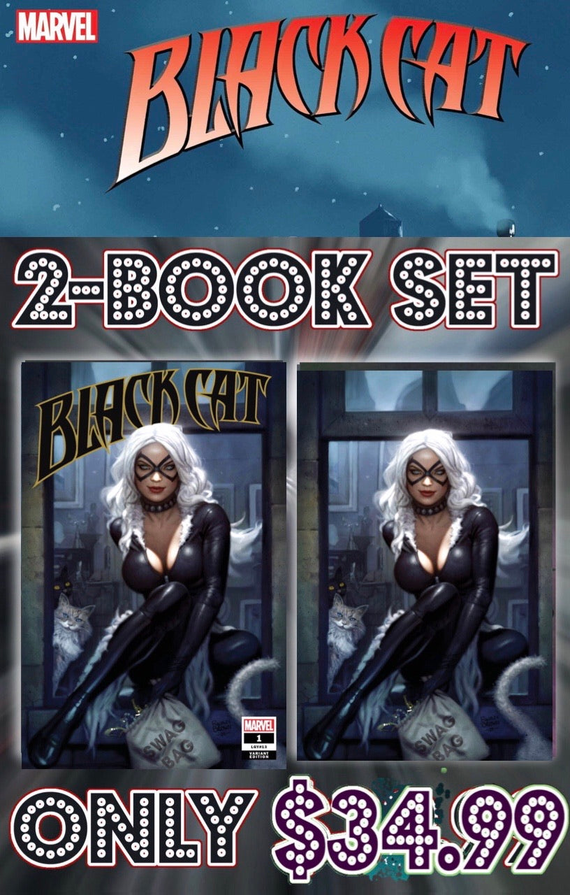 Black Cat Ryan Brown 2 Book Set