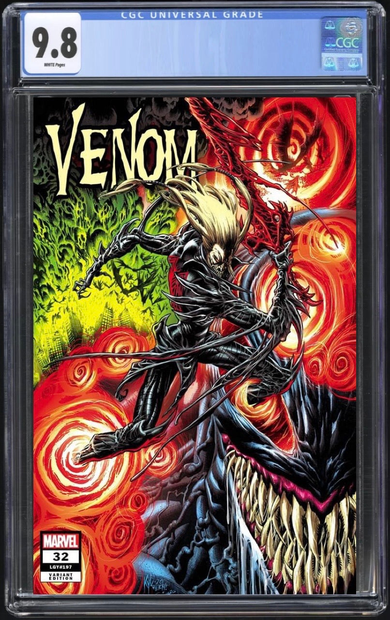 Venom 32 Kyle Hotz Trade Dress CGC 9.8