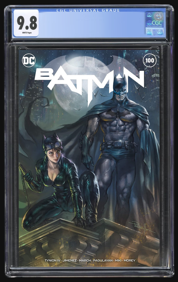 Batman 100 Parrillo Trade Dress CGC 9.8
