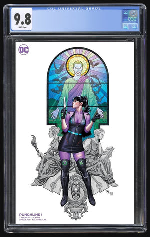 Punchline Special #1 Cho White Minimal Trade CGC 9.8
