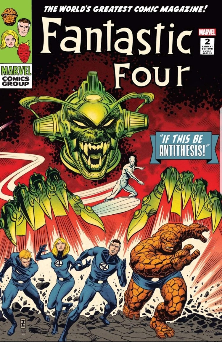 Fantastic Four Antithesis #2 Zircher Trade Dress