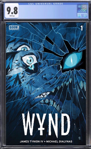 Wynd #1 CGC 9.8 Dialynas Exclusive Cover