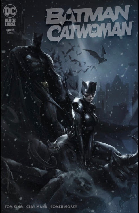 Batman Catwoman #1 Matina 2 Book Set