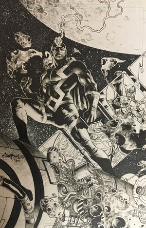 Black Bolt by Jimbo Salgado