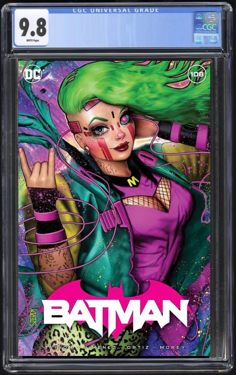 Batman 108 Szerdy Trade CGC 9.8