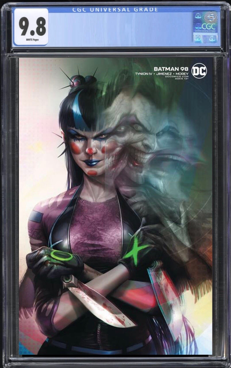 Batman 98 Cover B CGC 9.8