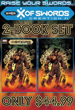 X of Swords Creation 1 Hotz Two Book Set