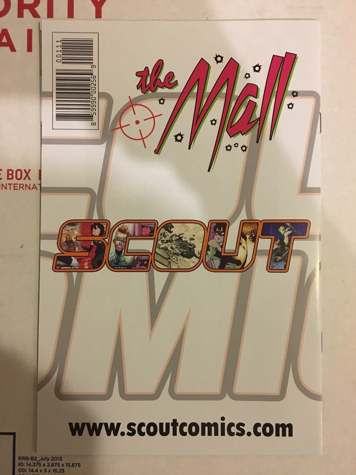 "THE MALL 1 SCOUT NM COVER ""A"""