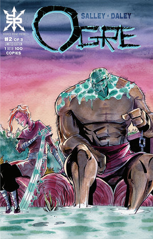 Ogre #1, #2, #3 Raft Trade Dress Connecting Cover Three Book Set