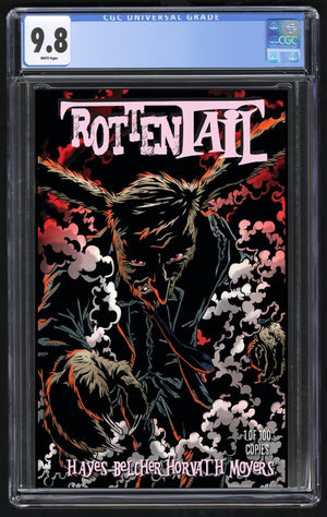 Rottentail #1 CGC 9.8