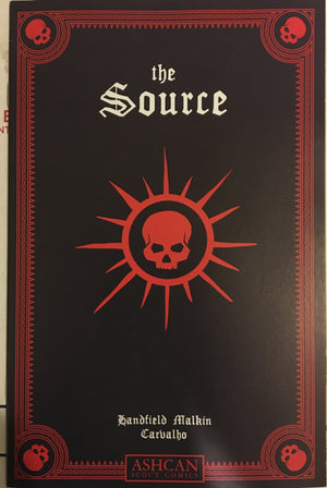 THE SOURCE #1 ASHCAN - NM- 9.4 - (SCOUT COMICS 2018) LOW PRINT HTF
