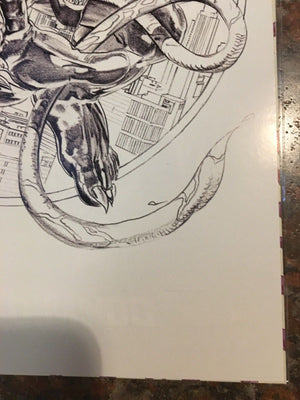 Venom #1 Mayhew Sketch Virgin