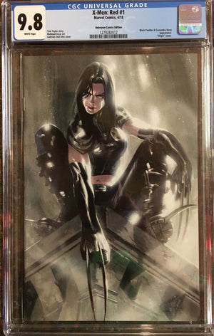 X-23 Dell'Otto Virgin Variant X-Men Red #1 CGC 9.8
