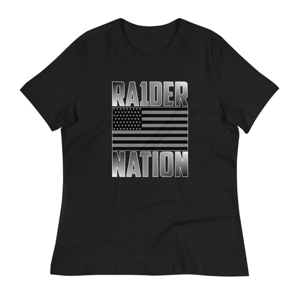 RA1DER Nation Flag Women's Tee