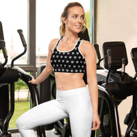 Polka Shield Sportsbra