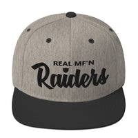 Real MF'n Raiders Snapback IV
