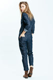 Denim Spencer Jumpsuit (Pre Order)