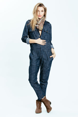 Denim Spencer Jumpsuit