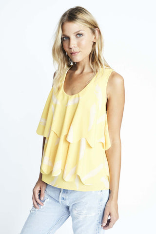 Feather Scallop Top
