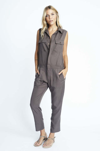 Sleeveless Spencer Jumpsuit