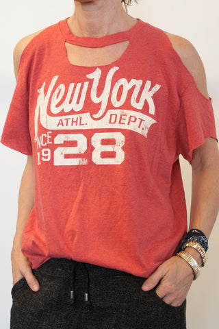 NY Athletic Dept. Vintage Tee