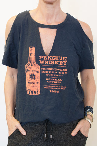 Penguin Whiskey Vintage Tee