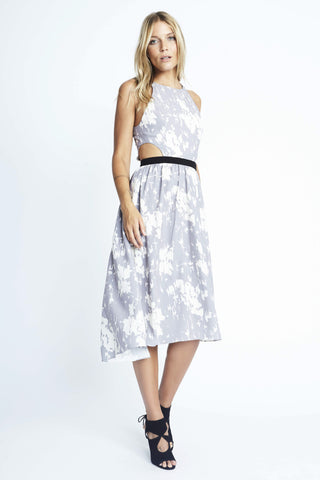 Kz by karen zambos floral print maxi dress
