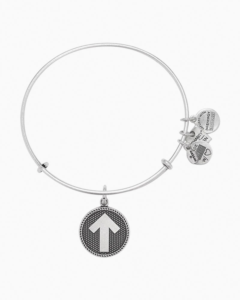 Silver Stand Up To Cancer Bracelet