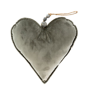 Plush Heart Ornament