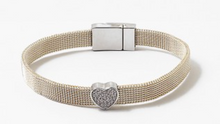 Load image into Gallery viewer, Mesh Charm Bracelet