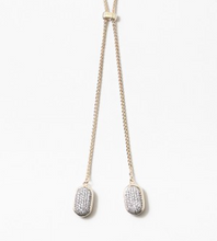 Load image into Gallery viewer, Pave Charm Bolo tie