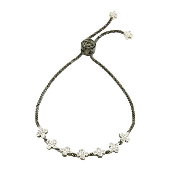 SIGNATURE CLOVER STRAND ADJUSTABLE BRACELET