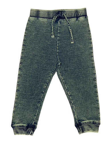 Denim Knit Jogger Pant