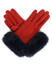 Load image into Gallery viewer, Bettina Faux Suede Gloves