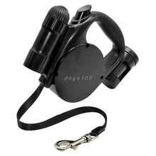Load image into Gallery viewer, Dog Leash LED Light & Clean-up Bag
