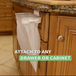 Trash Bag Storage Rack