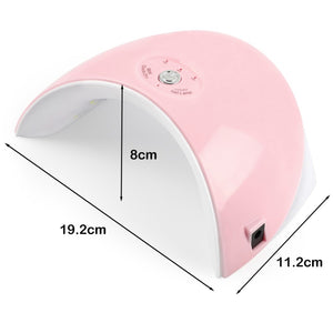 Led Lamp Nail Dryer For All Types Gel