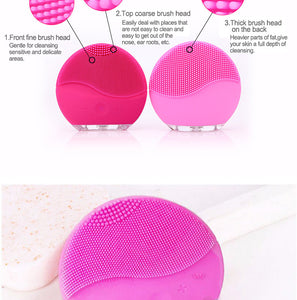 Silicone Facial Cleanser