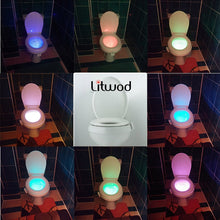 Load image into Gallery viewer, Smart Bathroom Toilet Night light