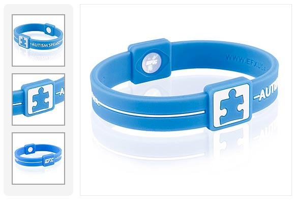 Autism Speaks Charity Wristband