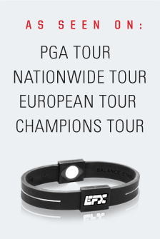 As Seen On PGA Tours, Nationwide Tour, European Tour, Champions Tour