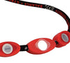 Nylon Corded Necklace - Black / White / Red