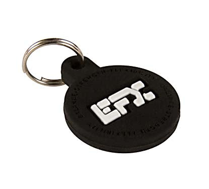 Silicone Pet Tag - (Round) Black