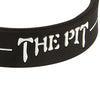 Silicone Sport Wristband - The Pit (Black/White)