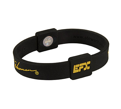 Silicone Sport Wristband - NASCAR Ryan Newman (Blk/Yellow)