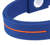 Silicone Sport Wristband - Blue / Orange