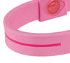 Silicone Sport Wristband - Breast Cancer Awareness (Pink/Pink)