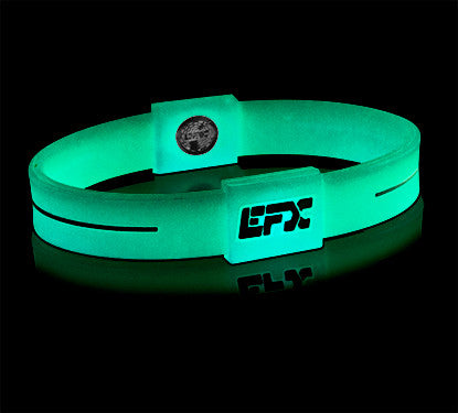 Silicone Sport Wristband - Glow In The Dark (Green)