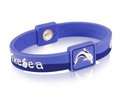 Silicone Sport Wristband - Save The Sea
